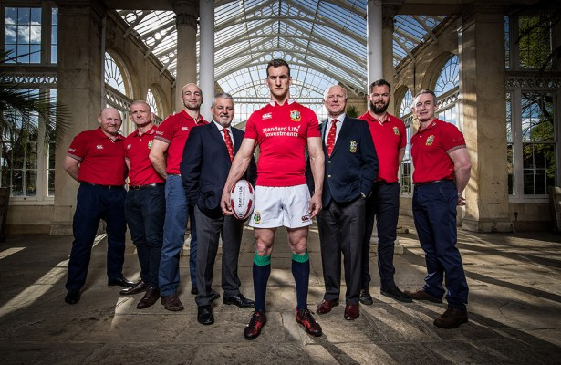 2017 Lions Captain Sam Warburton