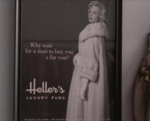 The future Betty Draper advertising fur