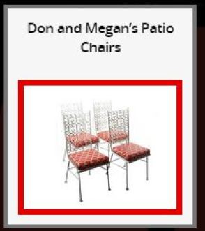 Draper Patio Chairs