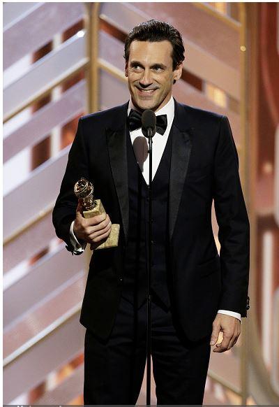 Jon Hamm Golden Globe