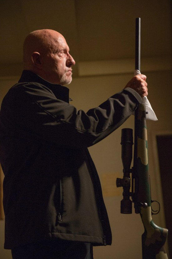 Better Call Saul, Mike with rifle