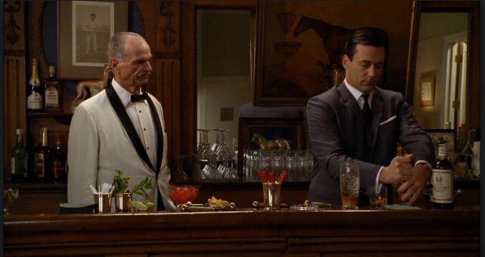 Conrad Hilton Draper bar