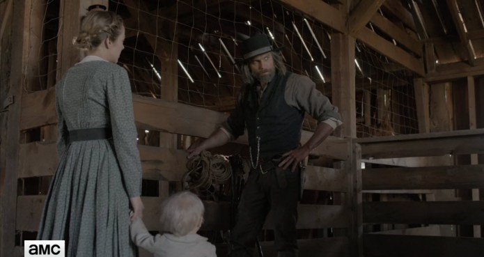 Hell on Wheels, Cullen says goodbye to Naomi & the baby