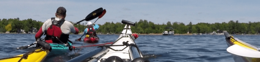 kayak in-line tow system