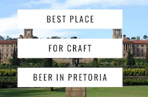 Craft Beer in Pretoria