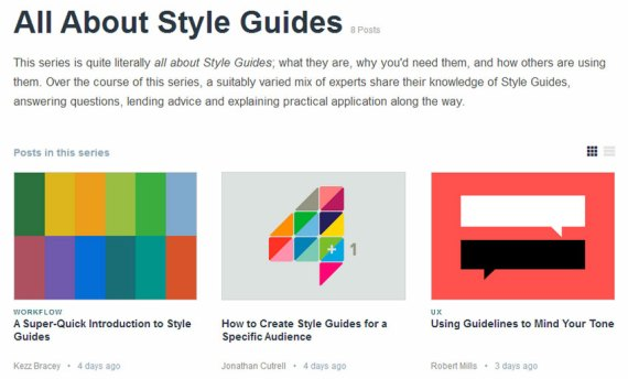 All About Style Guides