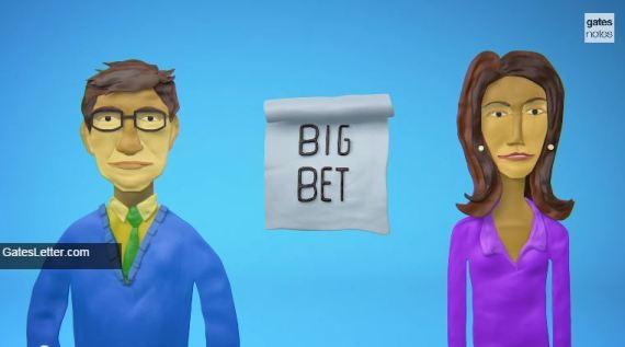 Bill and Melinda Gates Foundation Big Bet 2015
