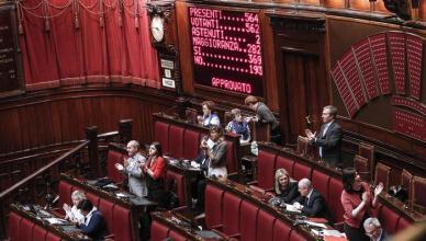 ++ Unioni civili: Camera conferma fiducia, 369 sì ++