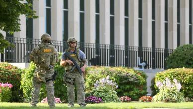 APTOPIX Michigan Courthouse-Shooting