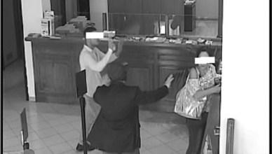 rapina banca cas