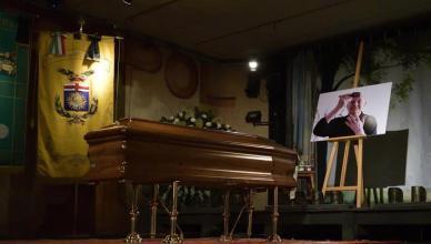 Dario Fo: mortuary chapel