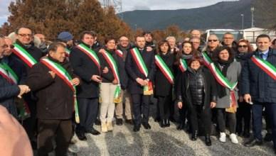 sindaci-abruzzo-protesta-pedaggio-autostrada