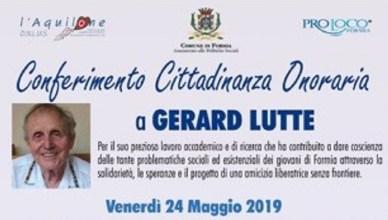 Cittadinanza onoraria Gerard Lutte