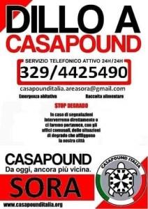 DILLO A CASAPOUND 1