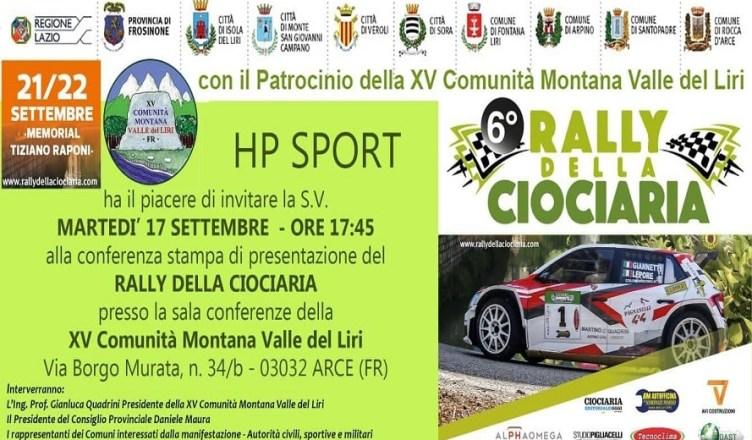 Rally Ciociaria 2019