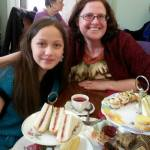 A Birthday Tea with Sarah.
