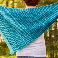 Vertical Hold Wrap knitting pattern