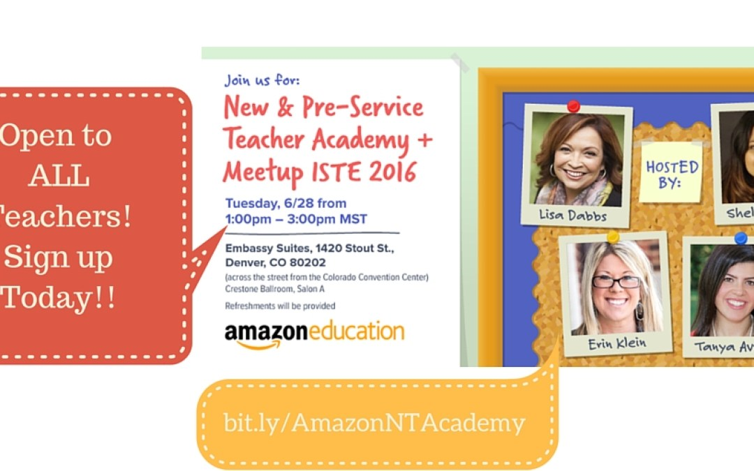 Teacher Academy Meetup at #ISTE2016
