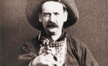 "Still shot from ""The Great Train Robbery"" (1903)"