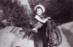 Lisa on Horse