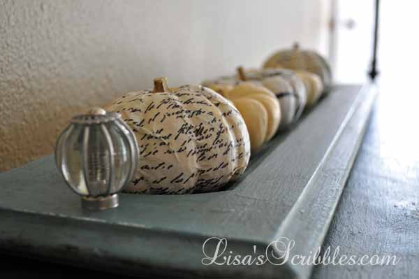 Fun Fall Decor – Mini Wrapped Pumkpins