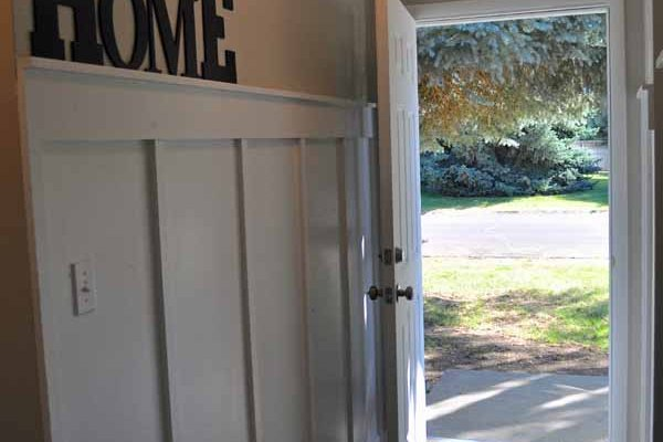 Creating an Inviting Entry on a Budget
