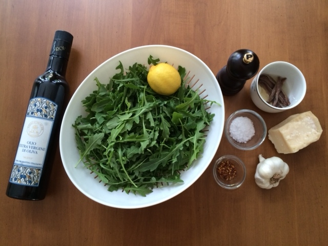 arugula ingredients