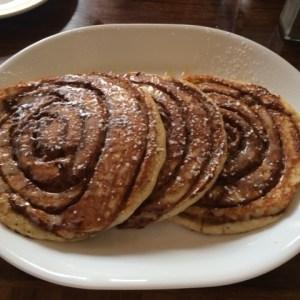 cinnamon bun pancake