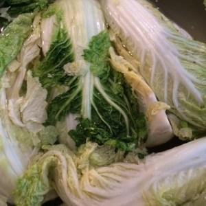 brining napa cabbage