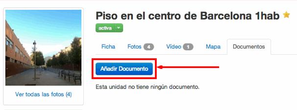 Añadir Documentos a Inmuebles: Añadir Documento