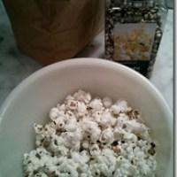 Microwave popcorn that's just popcorn