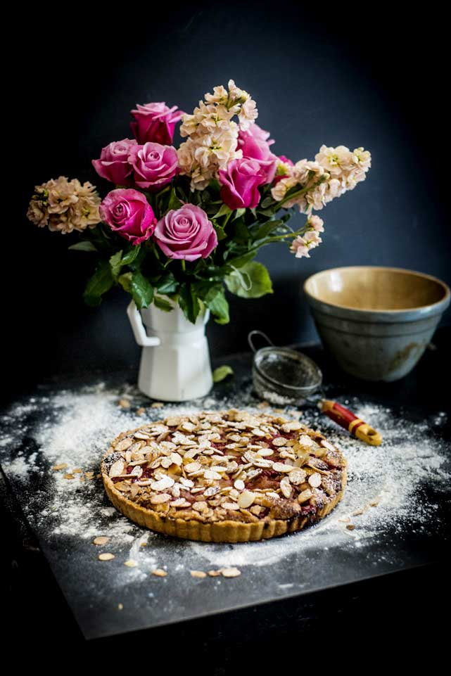 Flowers and Tart