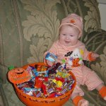 Wordless Wednesday: First Halloween