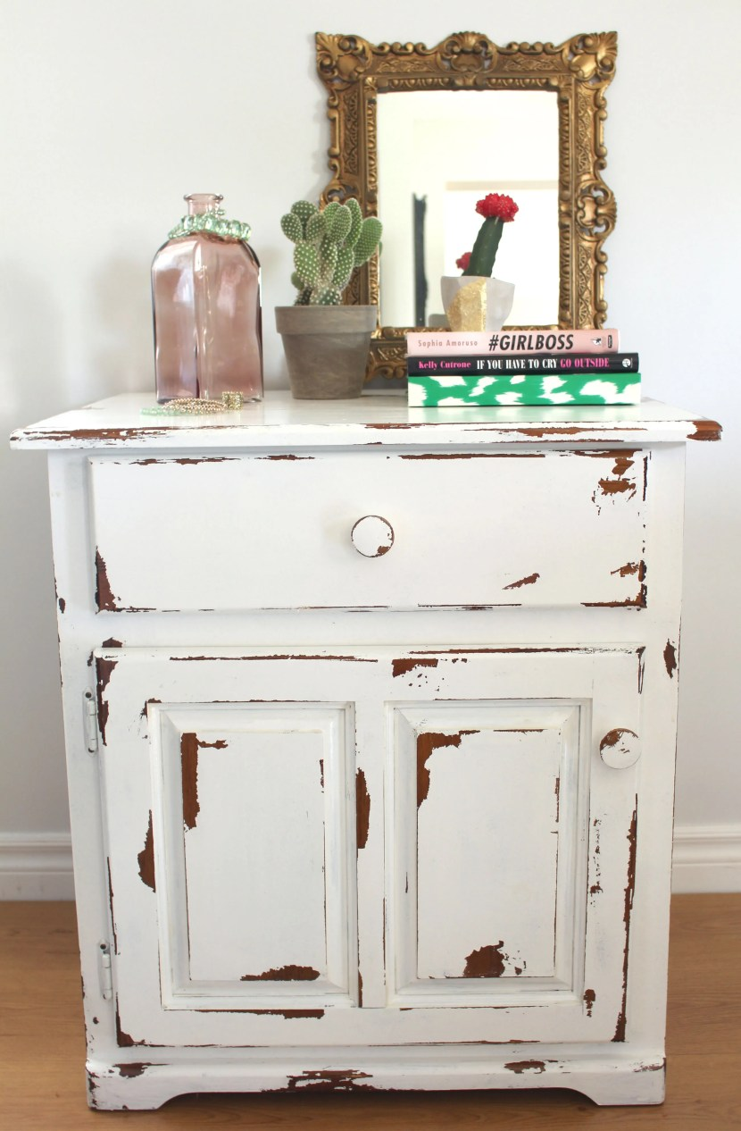 How To Distress Furniture Little Dekonings
