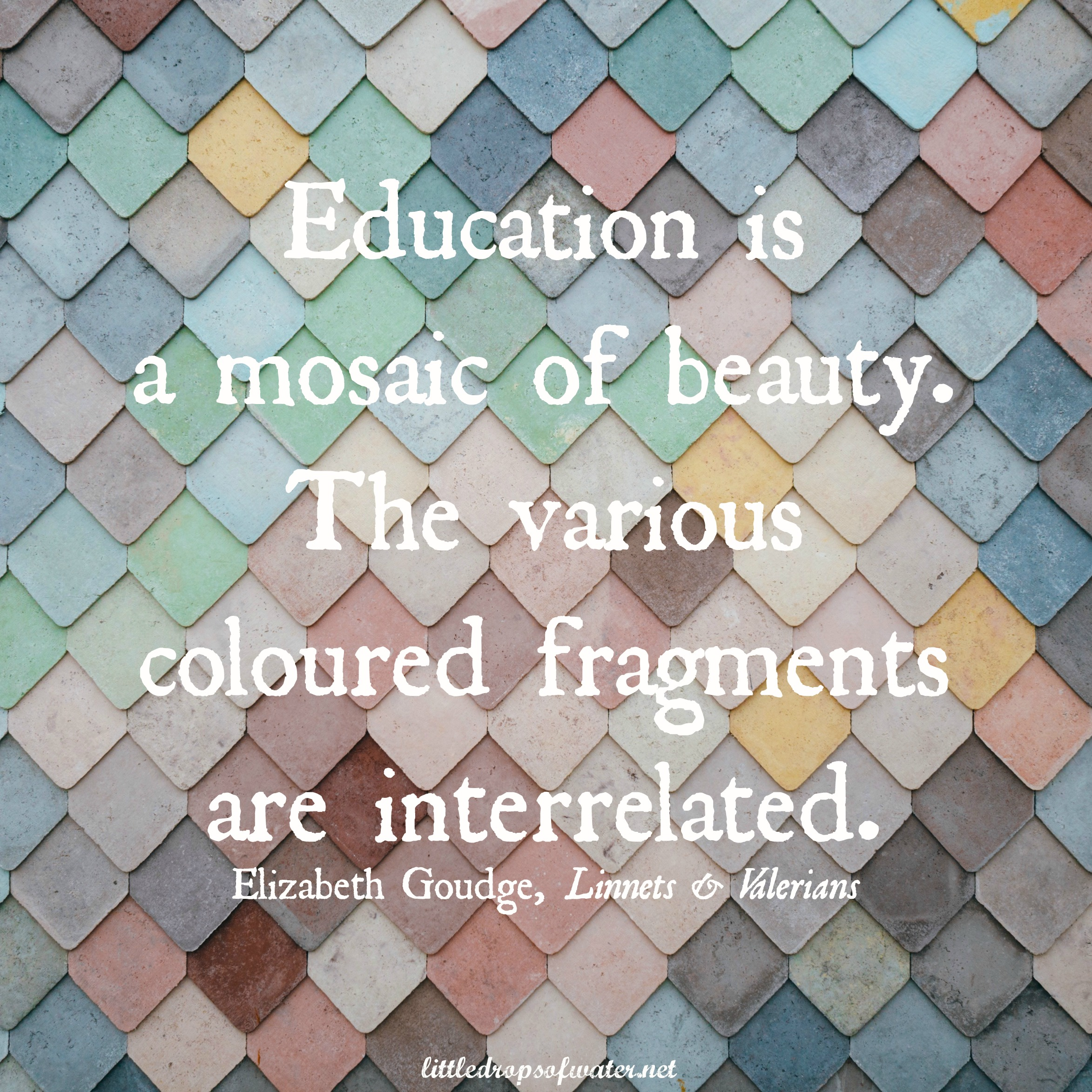 31 Days of Favorite Quotes: A Mosaic of Beauty