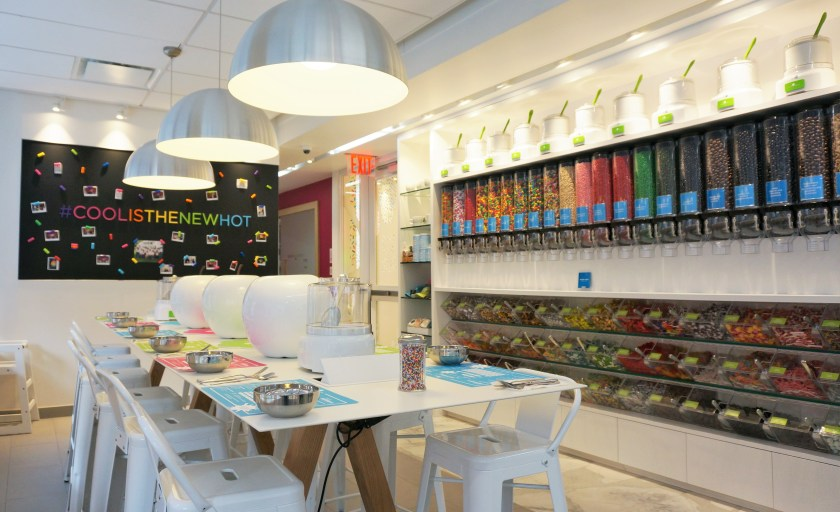 The amazing Candy Wall at CoolMess