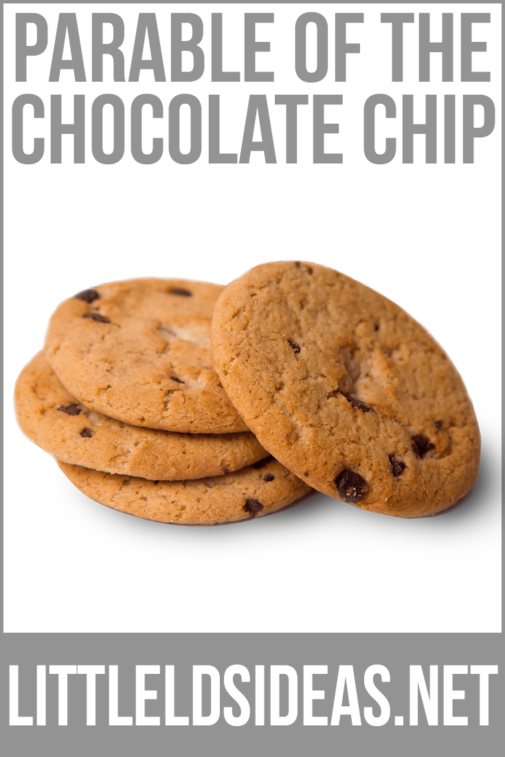 The Parable of the Chocolate Chip   Little LDS Ideas