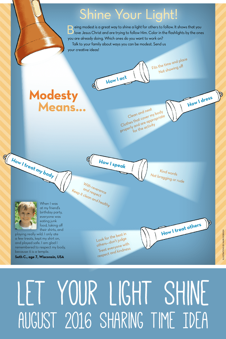 Modesty-Sharing-Time-Idea