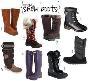 winter boots. // LLinaBC.com