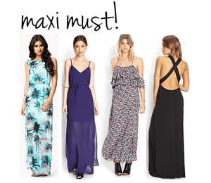 fashion // maxi must.
