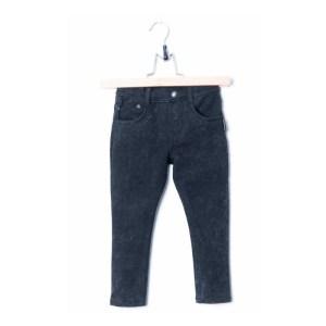 LUCKY NO. 7   BLACK DENIM JOG PANTS