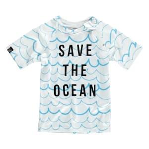 BEACH & BANDITS   SAVE THE OCEAN UV50 BLUSE (STR. 92-122)