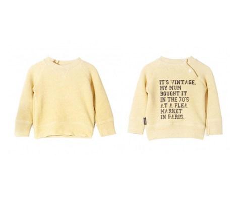 Imps & Elfs Baby Vintage style Sweatshirt - Little Spree