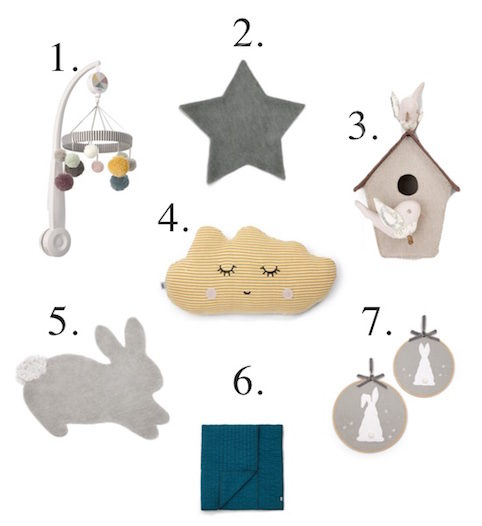 Beautiful baby nursery accessories and gifts - Little Spree