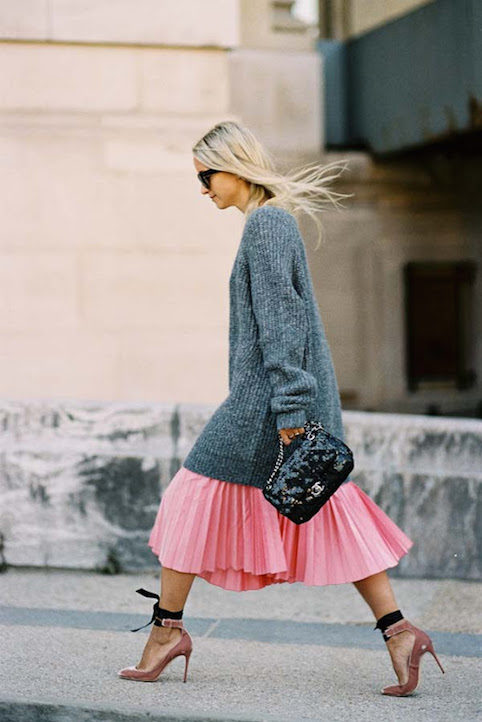 How to wear pleated skirts - Little Spree