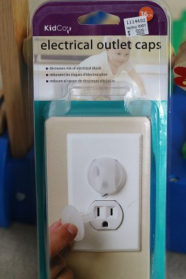baby proof outlet caps