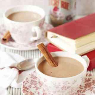 Healthy Cinnamon Hot Chocolate