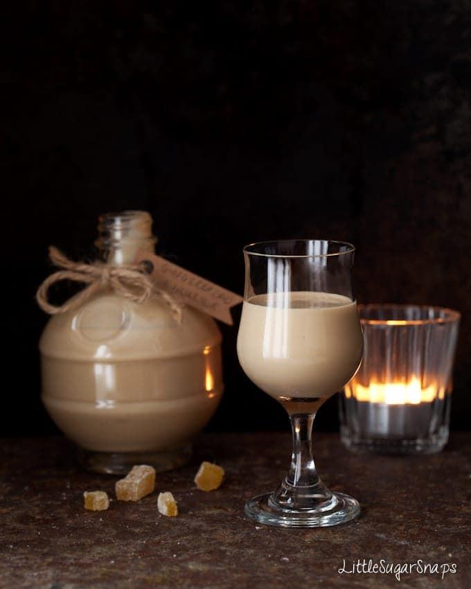 Homemade Gingerbread Cream Liqueur
