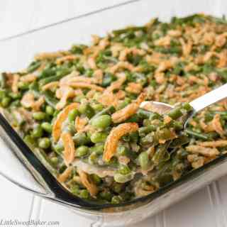 GREEN BEAN EDAMAME CASSEROLE. A new twist to old-time favorite! Green ...