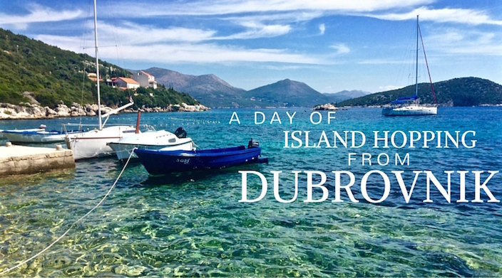 A Day of Island Hopping From Dubrovnik